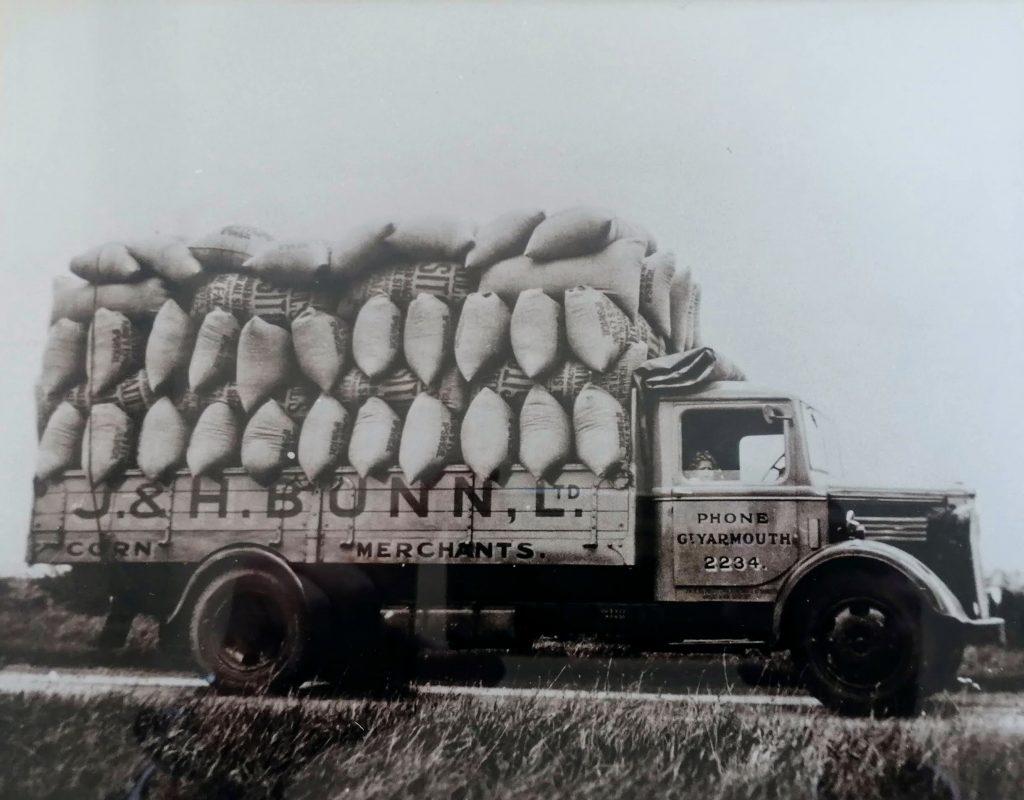 Nitrasol History - Old Bunn Lorry c1936