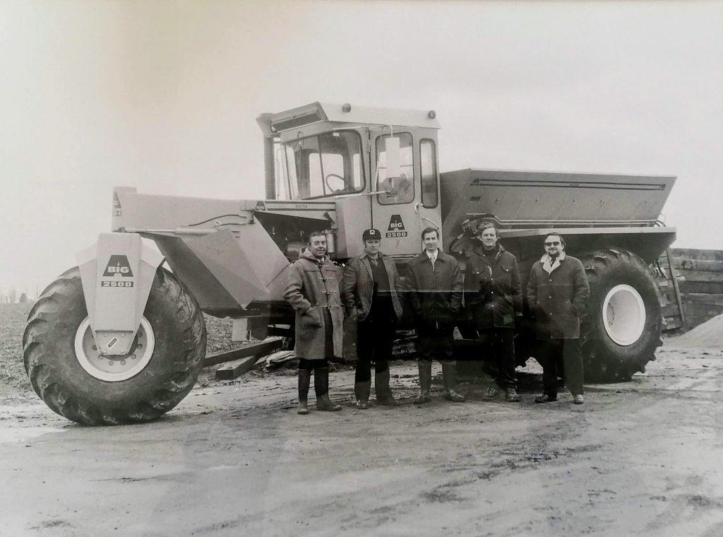 Nitrasol History - BigA Fertiliser Spreader 1973