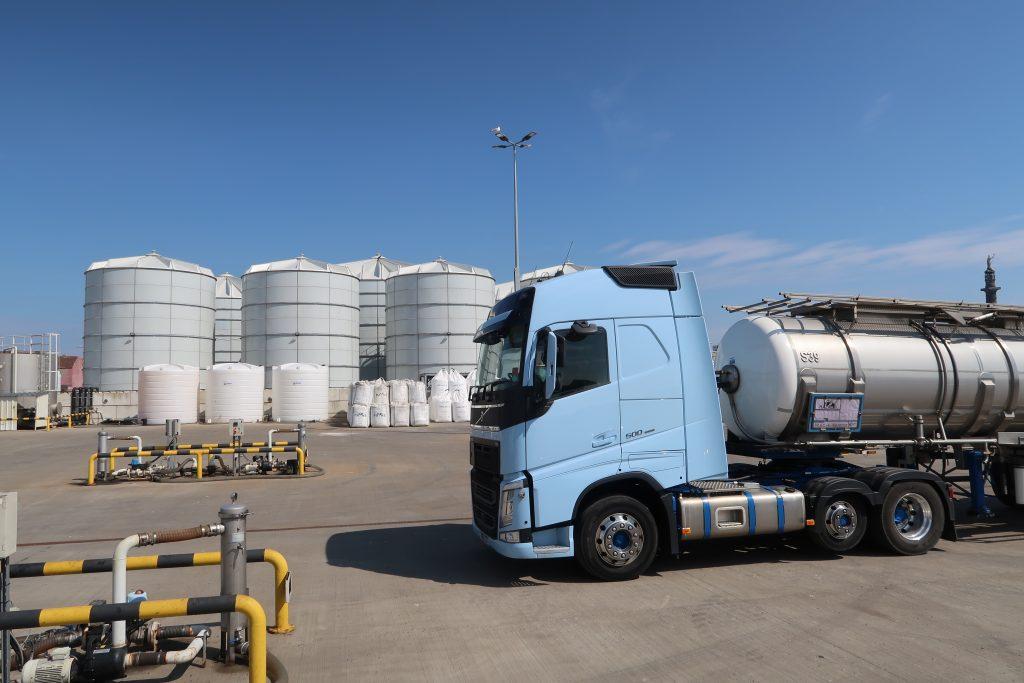 Nitrasol Liquid Fertiliser Terminal Great Yarmouth